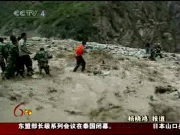 Otras 50 personas están desaparecidas mientras 23 mineros están atrapados en una mina inundada