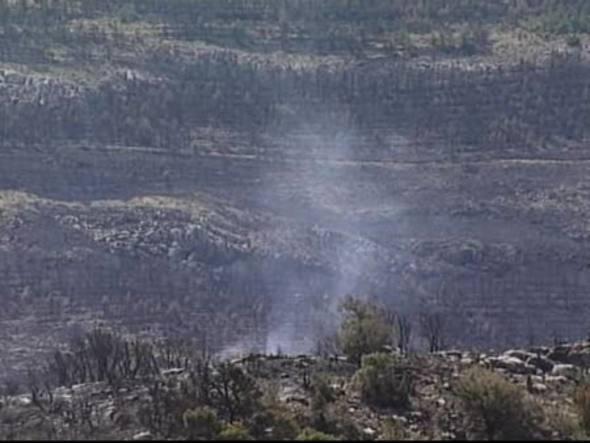 En Teruel dos incendios están controlados y otros 4 estabilizados