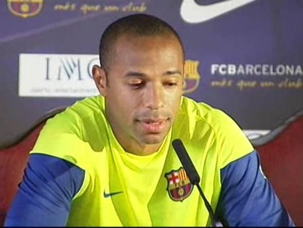 El delantero del Barça habla de la marcha de su compañero Eto'o